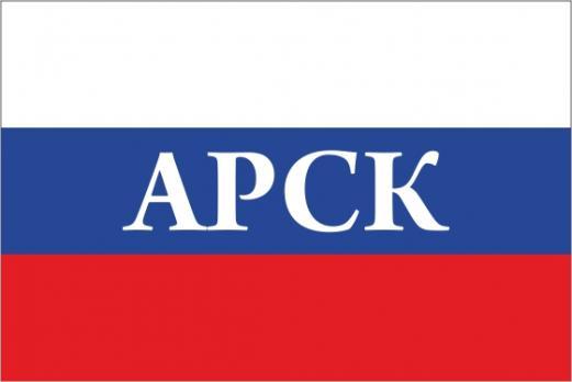 Флаг России с названием города Арск