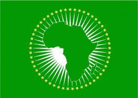 Флаг организации Африканский  союз