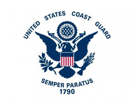 Флаг организации Береговая охрана США 2