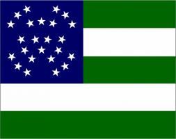 Флаг организации Департамент полиции Нью-Йорка(США)