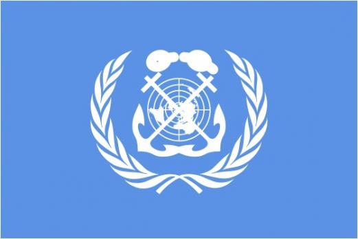 Флаг организации Международная морская организация (ИМО)