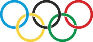 Флаг организации Международный олимпийский комитет