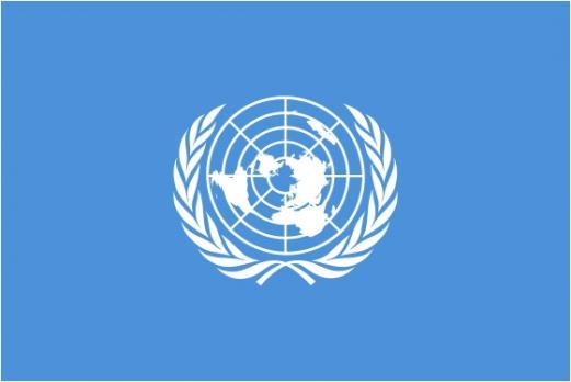 Флаг Организации Организация Объединённых Наций(ООН)