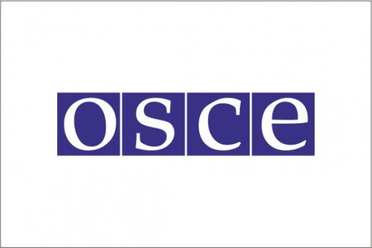 Флаг Организации по безопасности и сотрудничеству в Европе(ОБСЕ)