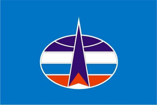 Флаг Космических войск РФ