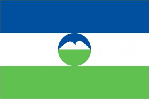 Флаг Кабардино-балкарской республики