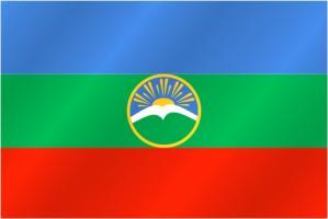 Флаг Карачаево-Черкесской Республики