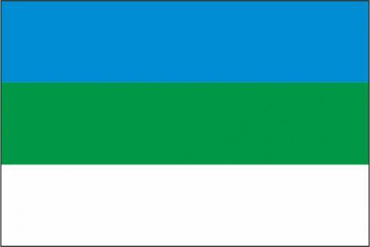 Флаг Республики Коми