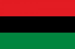 Флаг Афроамериканцев