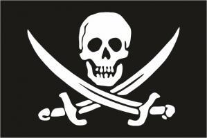 Пиратский флаг Калико Джека