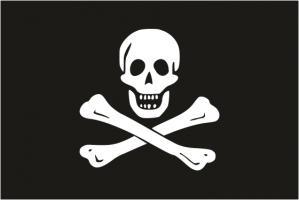 Пиратский флаг Эдварда Инглэнда ( Весёлый Роджер)