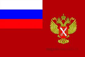 Флаг службы государственной регистрации, кадастра и картографии РФ