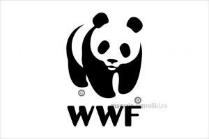 Флаг Всемирного Фонда дикой природы