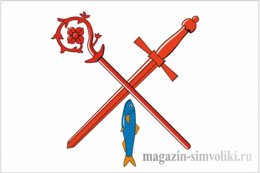 Флаг Приморска (Калининградская область)