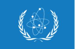 Флаг Международного агентства по атомной энергии (МАГАТЭ)