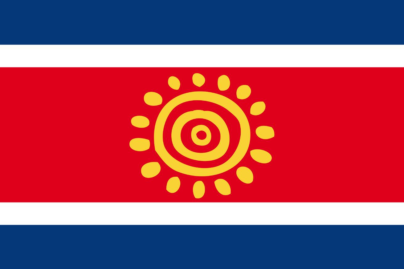 Флаг Анголы, проект флага (2003 г.)