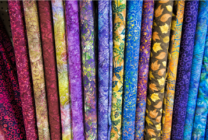 Печать на ткани сетка
