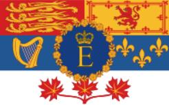 Флаг королевы Елизаветы II (Канада)
