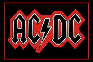 Флаг группы AC DC