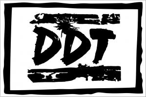 Флаг группы ДДТ, белый фон