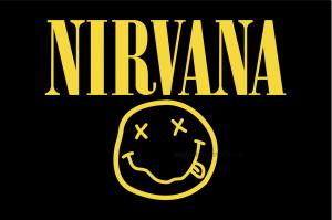 Флаг группы NIRVANA