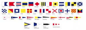 Комплект Флагов МСС (Флаги международного свода сигналов)