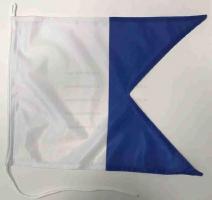 Флаг международного свода сигнала A Альфа (Alpha)