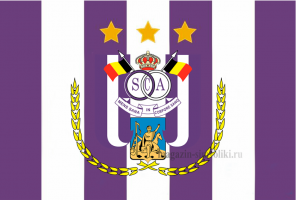 Флаг ФК Андерлехт