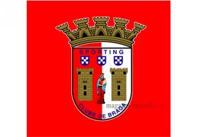 Флаг ФК Брага