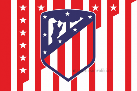Флаг ФК Атлетико