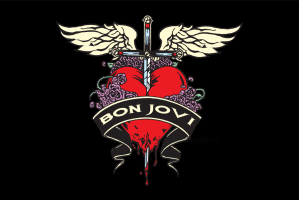 Флаг группы Bon Jovi