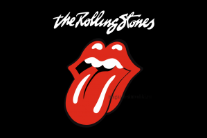 Флаг группы Rolling Stones