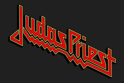Флаг группы Judas Priest