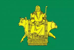 Флаг Волосовского городского поселения