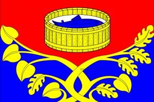 Флаг Лужского муниципального района Ленинградской области