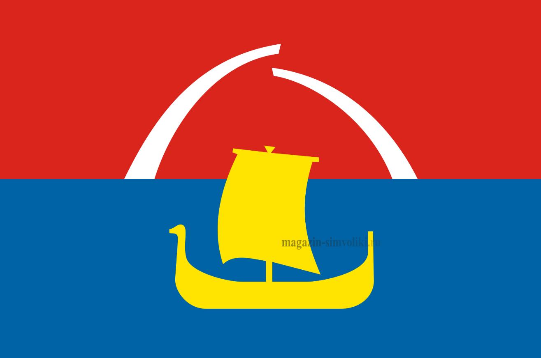 Флаг Всеволожского района Ленинградской области