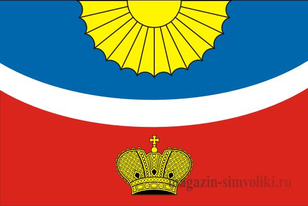 Флаг Тихвинского муниципального района Ленинградской области
