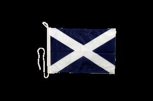 Флаг Шотландии на яхту