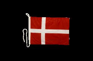 Флаг Дании на яхту