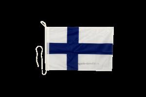 Флаг Финляндии на яхту