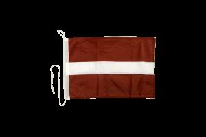 Флаг Латвии на яхту