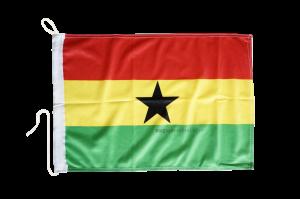 Флаг Ганы на яхту