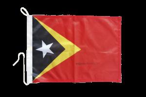 Флаг Восточного Тимора на яхту
