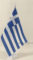 Флаг Греции настольный на подставке