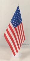Флаг США настольный на подставке