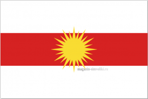 Флаг Езидов (горизонтальные полосы)