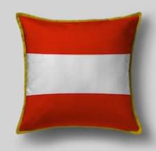 Подушка с флагом Австрии