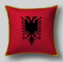 Подушка с флагом Албании