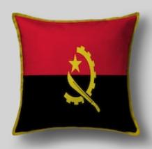 Подушка с флагом Анголы