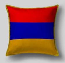 Подушка с флагом Армении